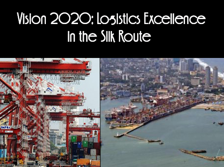 LOGISTICS EXCELLENCE IN THE SILK ROUTE